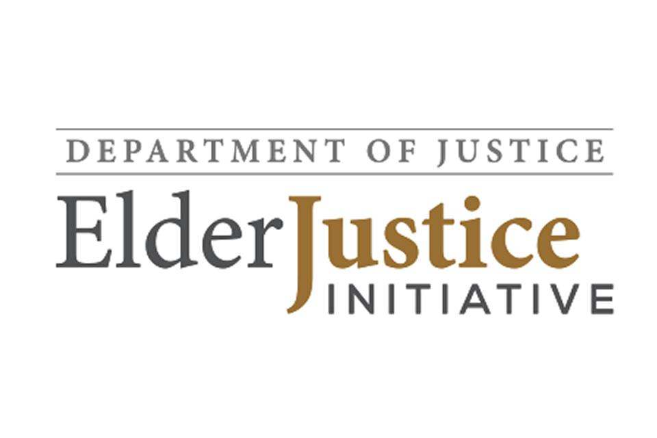 Department of Justice: Elder Justice Initiative